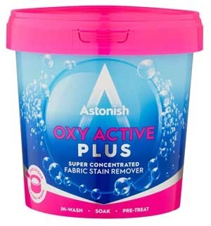 Astonish Oxy-Plus Laundry Stain Remover Powder
