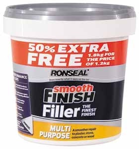 'Ronseal' Mulitpurpose Ready Mix Filler 1.8kg