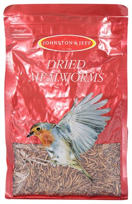 Dried Mealworms Bag
