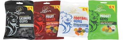 Assorted 'Lion' Sweet Bags
