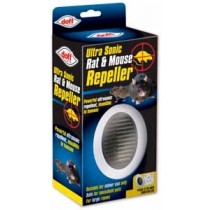 'doff' Plug-in Ultra Sonic Rat, Mouse & Spider Repeller