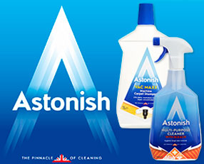 Astonish Range In-Store Now