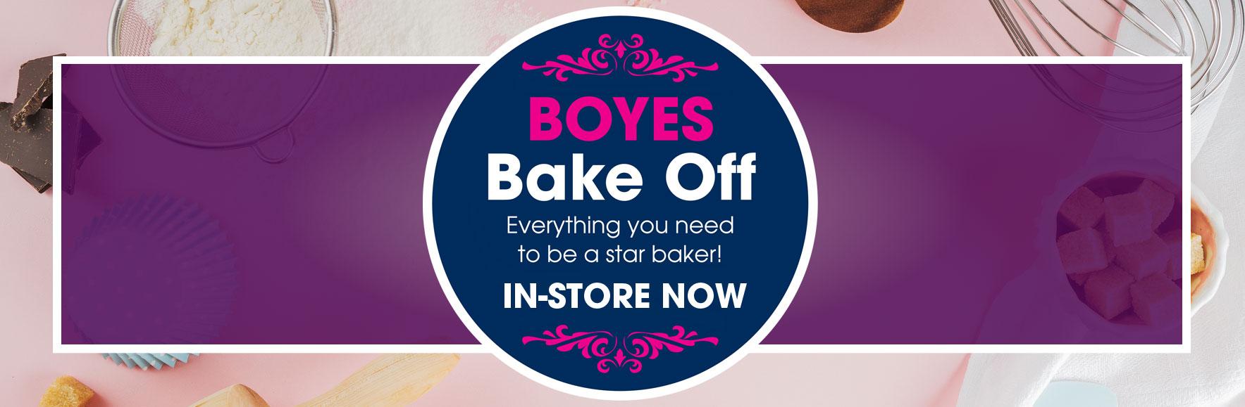 Boyes Bake Off