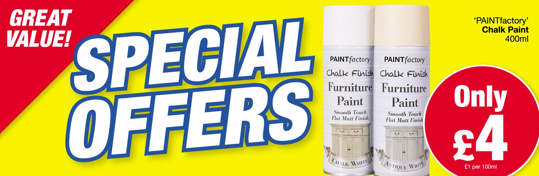 'Paint Factory' Chalk Paint. ONLY £4