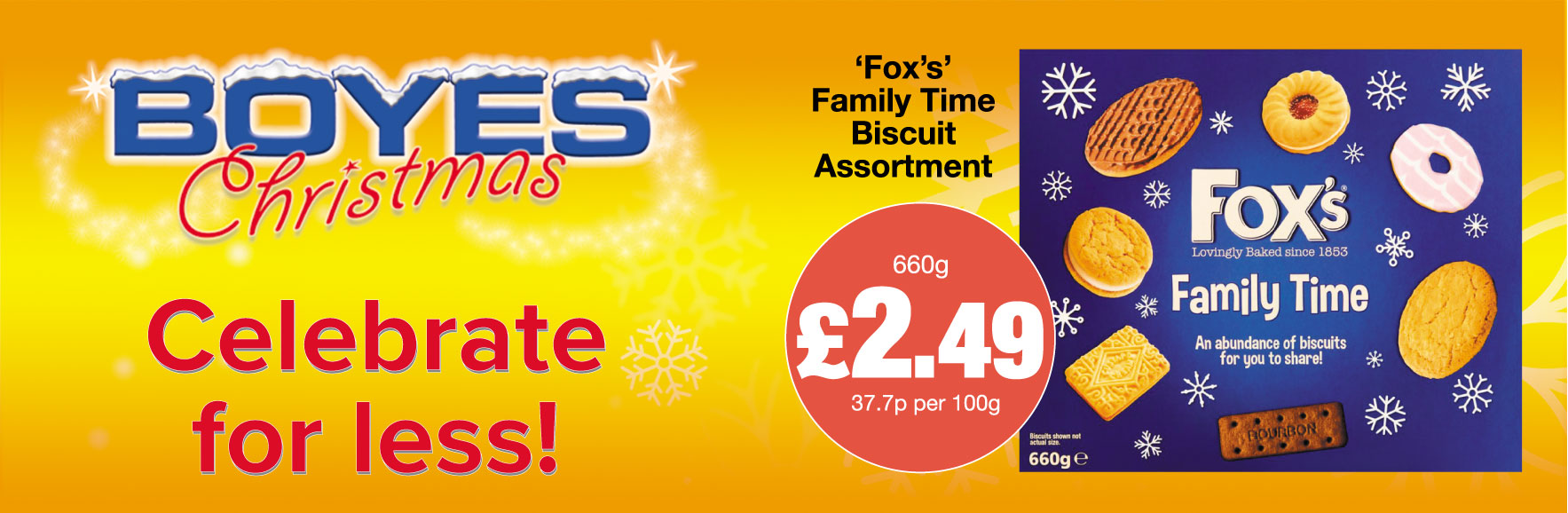 Fox's Family Time Biscuit Assortment £2.49