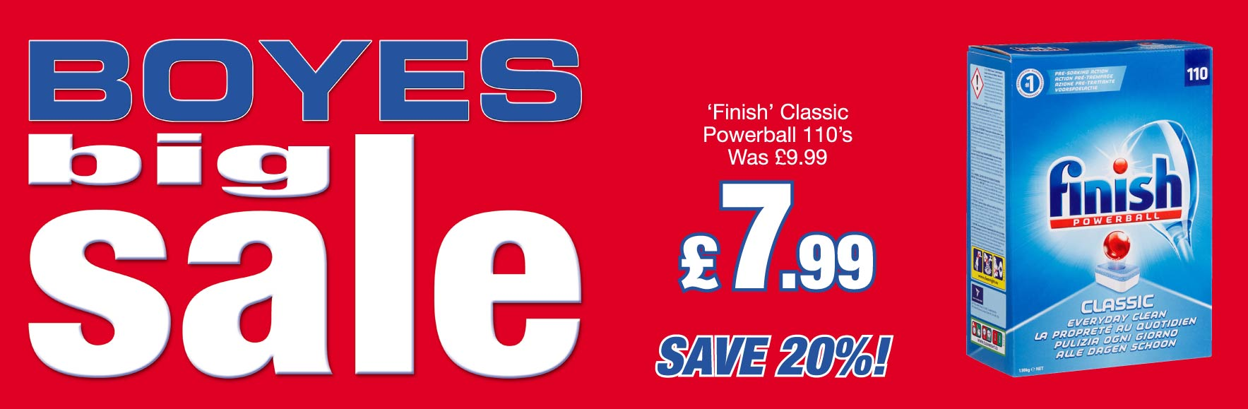 Finish Classic Powerball 110's. Was £9.99 NOW £7.99!